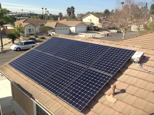 Large Residence Solar Installation