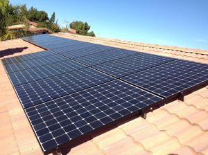 Trout Residence Solar Installation