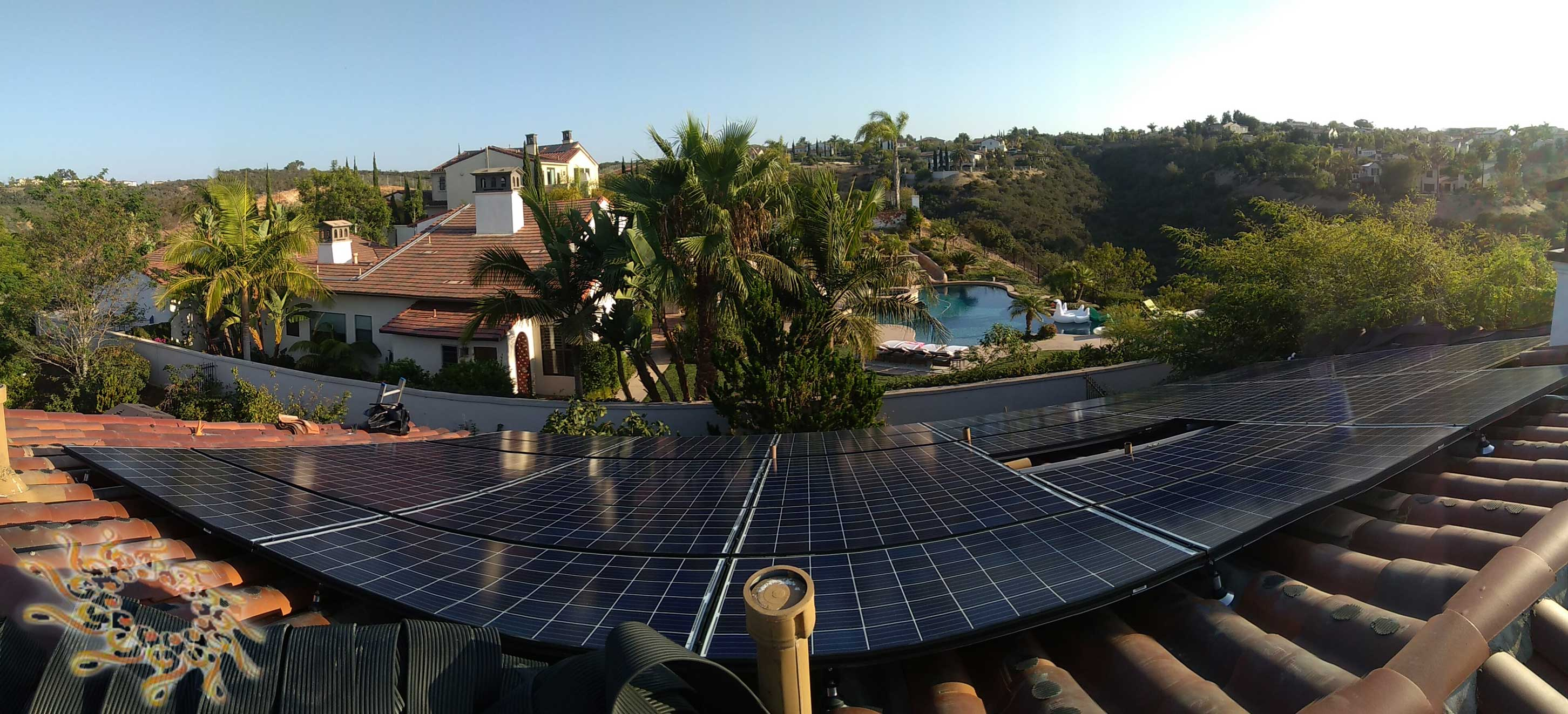Home Solar Panel Installation Done Right in San Diego, California.