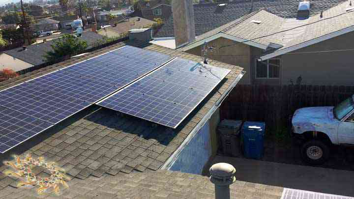 King Residence Solar Installation